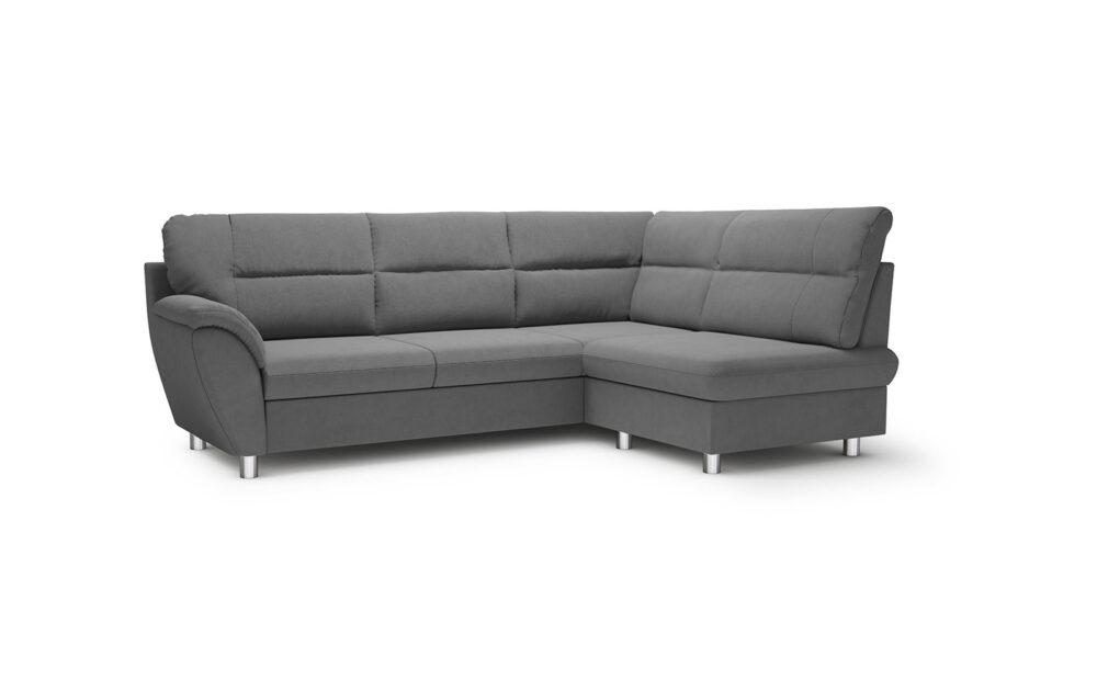 Amigo Mini Corner Sofa - soft touch grey