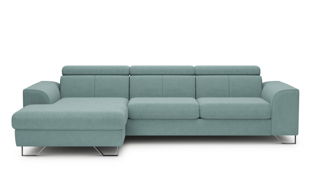Asti Corner Sofa - soft touch mint