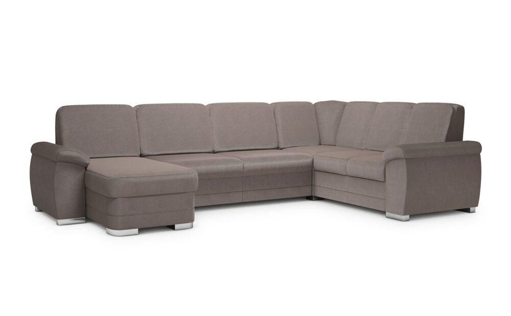 Barello X-Large Corner Sofa - soft velur beige