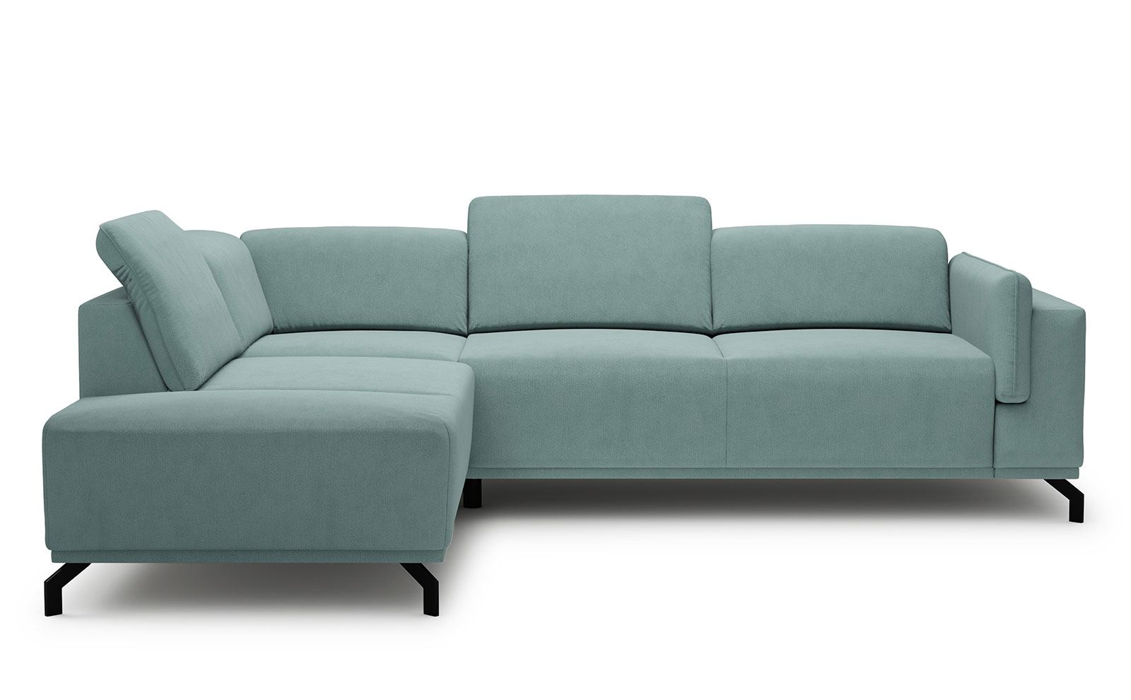 Busto Corner Sofa - soft touch mint