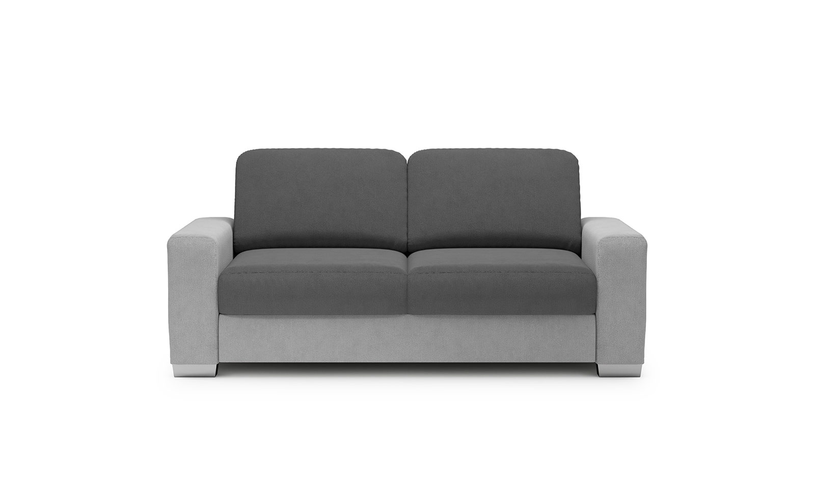 Chantal Sofa 2 Sleeping - soft touch silver-soft touch anthracite