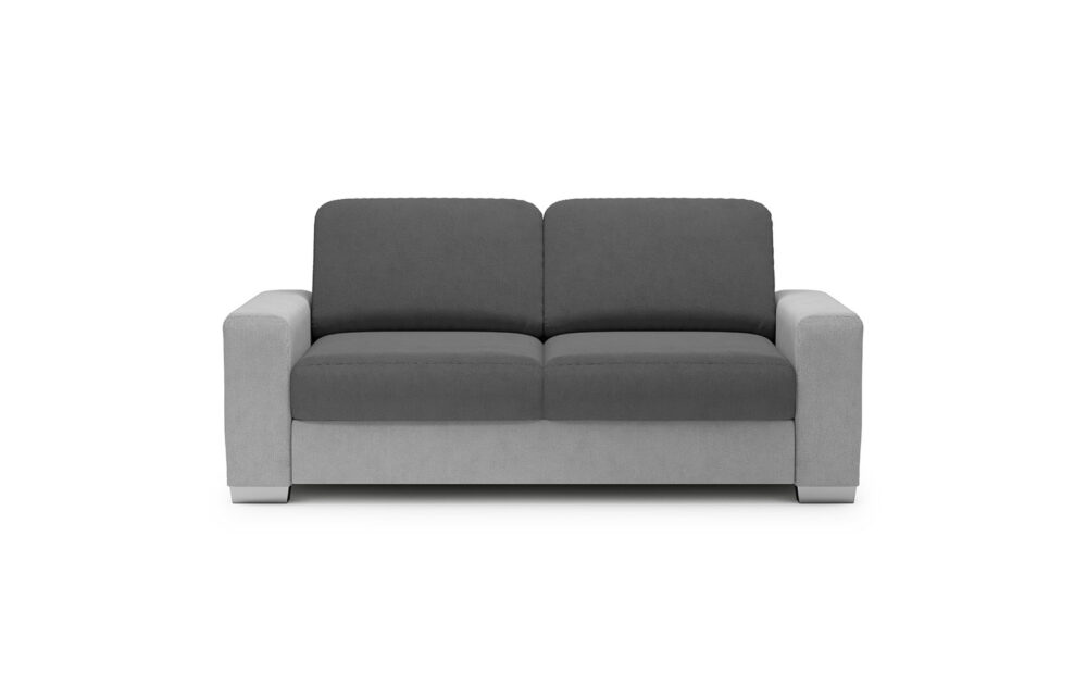 Chantal Sofa 2 With A Container - soft touch silver-soft touch anthracite