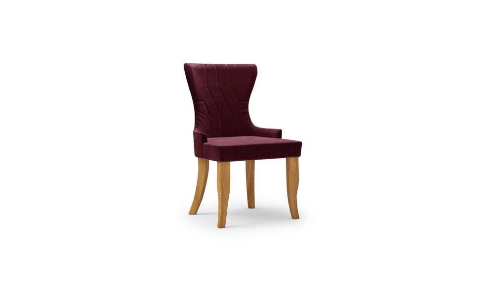 Cosmo Armchair - velvet burgund