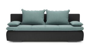 Diego Sofa - soft touch mint-soft touch grey nero