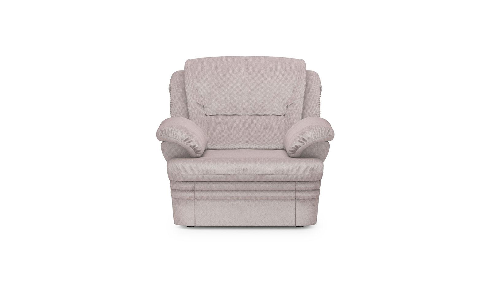 Dubai Armchair - soft velur powder pink