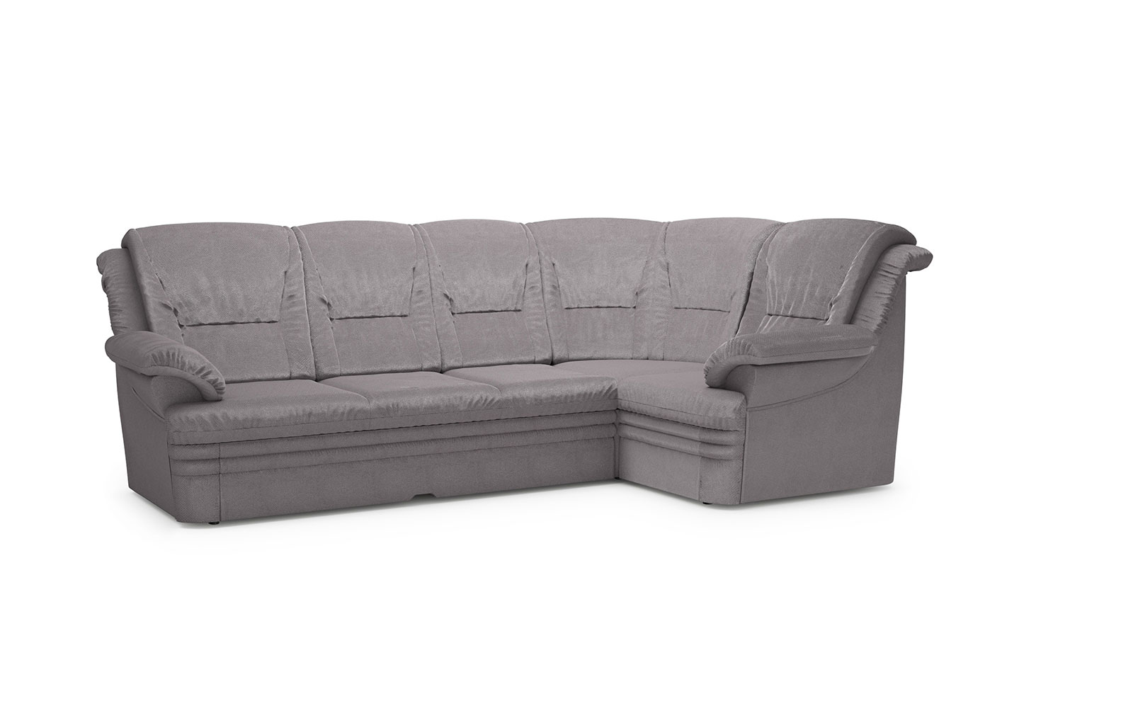 Dubai  Medium Corner Sofa - soft velur lavender