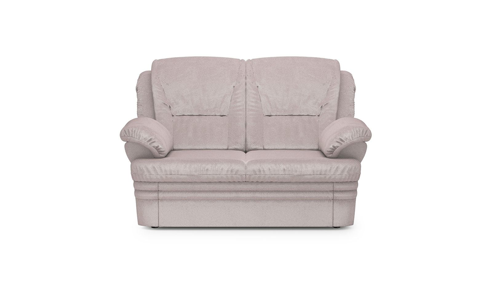 Dubai Sofa 2 With A Container - soft velur powder pink