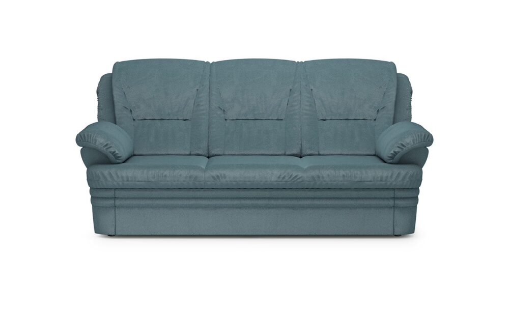 Dubai Sofa 3 Sleeping - soft velur blue