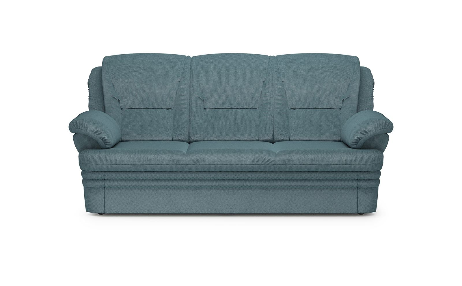 Dubai Sofa 3 Sleeping - soft velur blue