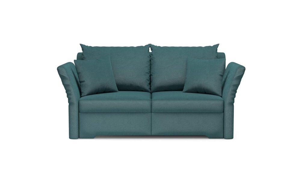 Melfi Sofa - soft velur turquoise