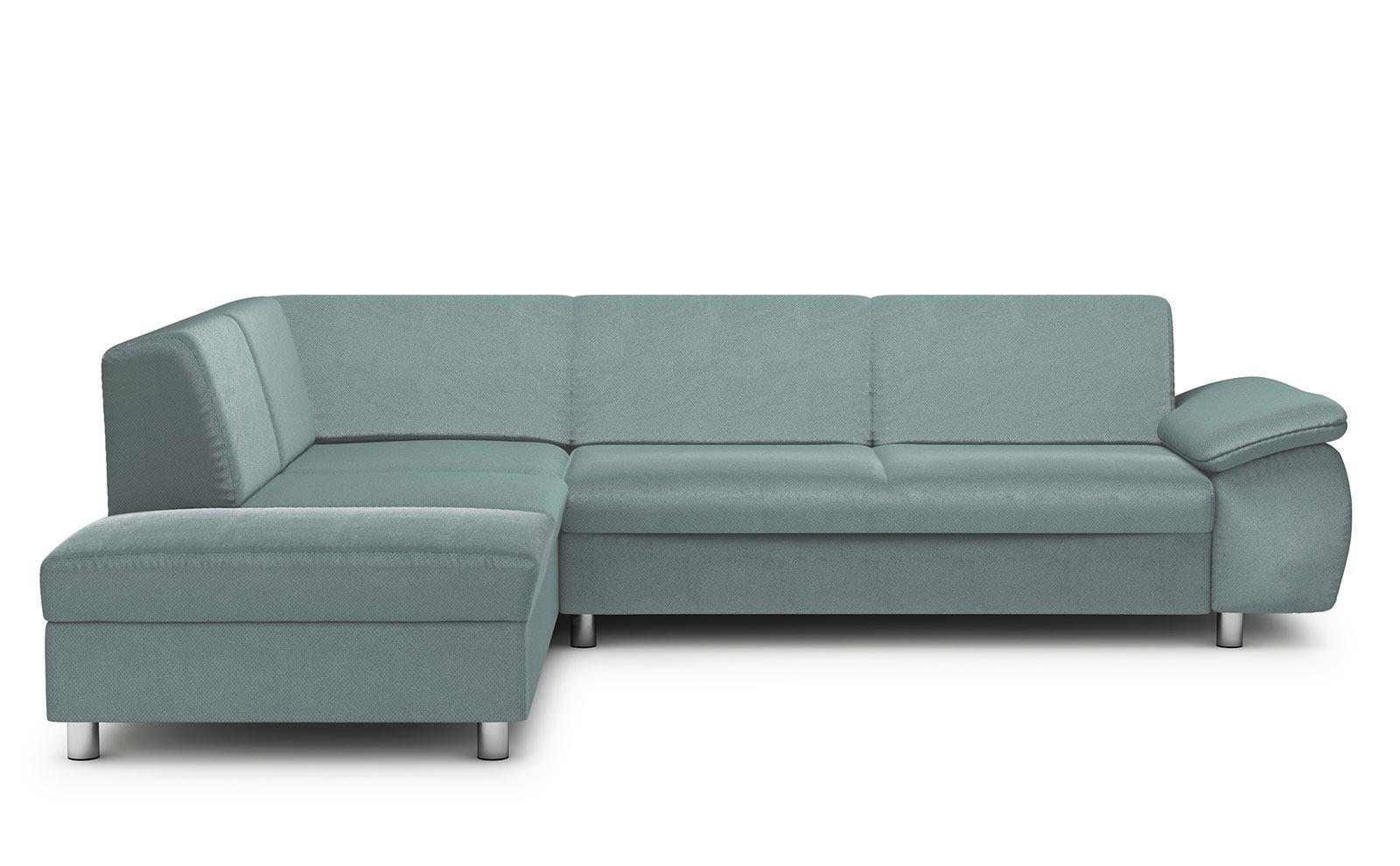 Niagara Corner Sofa - soft velur mint
