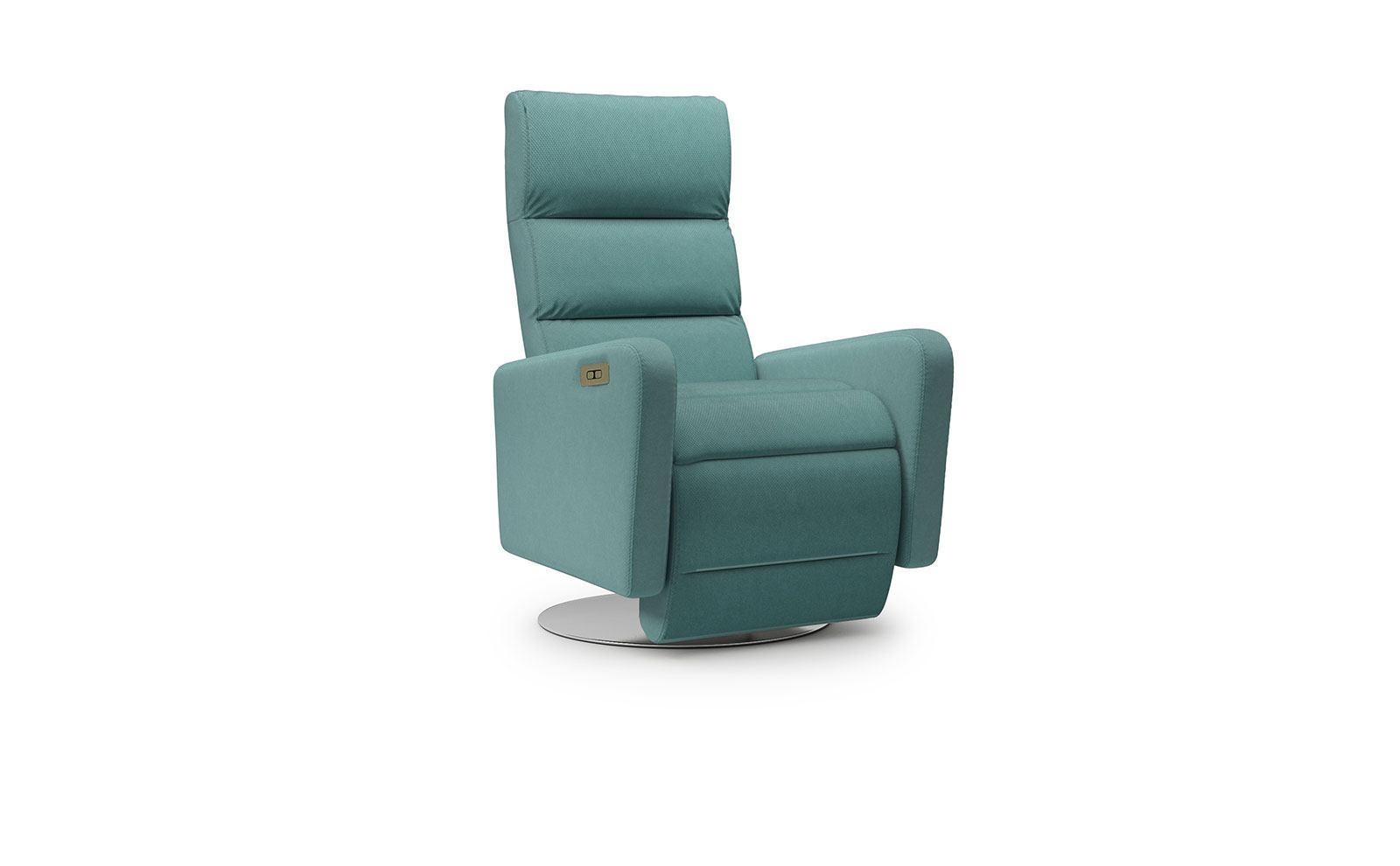 Osti Armchair - soft velur turquoise