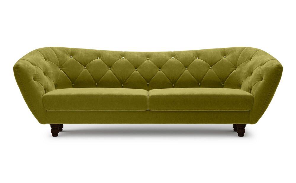 Wenecja Sofa 3 - velvet verde